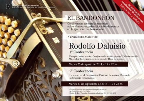 conferencia Maestro Daluisio